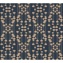 AS Création Vliestapete New Life geometrische Tapete blau beige 376792 10,05 m x 0,53 m
