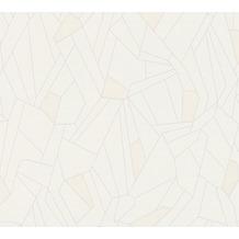 AS Création Vliestapete New Life geometrische Tapete creme beige grau 376771 10,05 m x 0,53 m