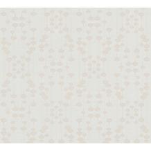 AS Création Vliestapete New Life geometrische Tapete weiß beige 376791 10,05 m x 0,53 m