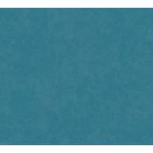 AS Création Vliestapete New Life Unitapete blau petrol 376923 10,05 m x 0,53 m