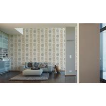 AS Création Vliestapete Pop Colors Tapete beige braun grau 10,05 m x 0,53 m