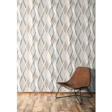 AS Création Vliestapete Pop Colors Tapete beige grau 10,05 m x 0,53 m