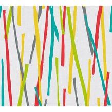 AS Création Vliestapete Pop Colors Tapete bunt creme metallic 355992 10,05 m x 0,53 m