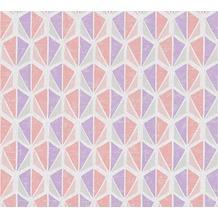 AS Création Vliestapete Pop Colors Tapete creme rosa lila 355982 10,05 m x 0,53 m