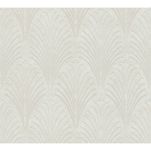 AS Création Vliestapete Pop Style Art Deco Tapete beige grau creme 374821 10,05 m x 0,53 m