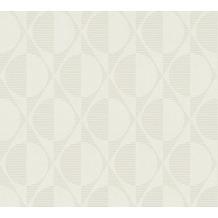 AS Création Vliestapete Pop Style geometrische Tapete creme beige 374783 10,05 m x 0,53 m