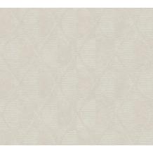 AS Création Vliestapete Pop Style geometrische Tapete grau beige creme 374782 10,05 m x 0,53 m