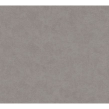 AS Création Vliestapete Pop Style Unitapete grau beige 375018 10,05 m x 0,53 m