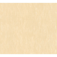 AS Création Vliestapete Romantico Tapete Uni beige 372413 10,05 m x 0,53 m