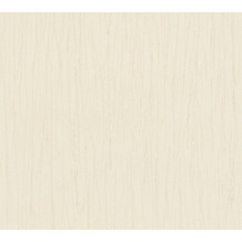AS Création Vliestapete Romantico Tapete Uni beige creme 808813 10,05 m x 0,53 m