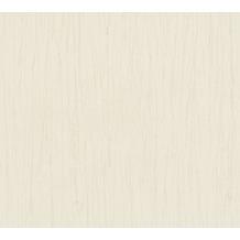 AS Création Vliestapete Romantico Tapete Uni beige creme 808806 10,05 m x 0,53 m