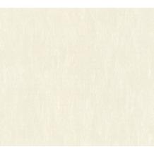AS Création Vliestapete Romantico Tapete Uni creme 372406 10,05 m x 0,53 m