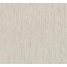 AS Création Vliestapete Romantico Tapete Uni grau beige 808820 10,05 m x 0,53 m