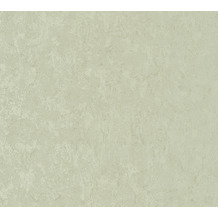 AS Création Vliestapete Romantico Tapete Uni grün 372282 10,05 m x 0,53 m
