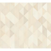 AS Création Vliestapete Scandinavian 2 Tapete geometrisch grafisch braun creme grau 367861 10,05 m x 0,53 m