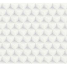 AS Création Vliestapete Scandinavian 2 Tapete in 3D Optik geometrisch grau weiß 361851 10,05 m x 0,53 m