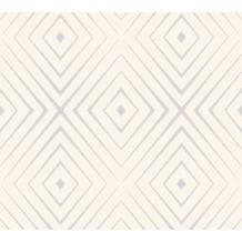AS Création Vliestapete Scandinavian 2 Tapete in 3D Optik geometrisch rosa grau 367852 10,05 m x 0,53 m