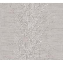 AS Création Vliestapete Scandinavian 2 Tapete mit Ast Muster beige braun 962033 10,05 m x 0,53 m