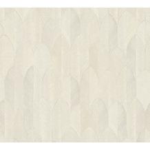 AS Création Vliestapete Sumatra Tapete im Ethno Look beige creme grau 373731 10,05 m x 0,53 m