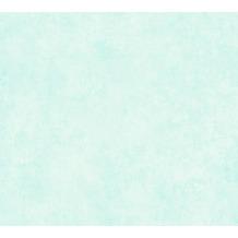 AS Création Vliestapete Sumatra Tapete Uni blau grün 373703