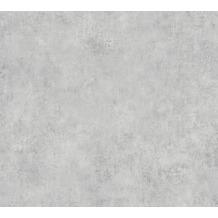 AS Création Vliestapete Sumatra Tapete Uni grau 373705 10,05 m x 0,53 m