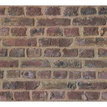 AS Création Vliestapete Trendwall Tapete in Backstein Optik beige braun rot 371611 10,05 m x 0,53 m