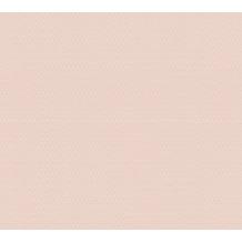 AS Création Vliestapete Trendwall Tapete Uni grafisch rosa 371212
