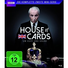 Ascot Elite House of Cards-Die komplette zweite Mini-Serie-, Blu-ray