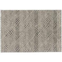 Astra Teppich Carpi Design 151 Farbe 004 Gitter silber 200 x 290 cm
