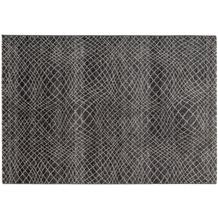 Astra Teppich Carpi Design 151 Farbe 041 Gitter anthrazit 200 x 290 cm