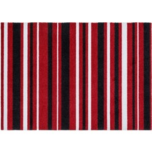 Astra Fußmatte Cardea Streifen rot 50x70