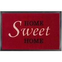 Astra Fussmatte Homelike Sweet Home rot 50x70