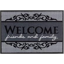 Astra Fußmatte Homelike Welcome grau 50x70