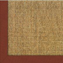 Astra Sisalteppich Manaus mit ASTRAcare (Fleckenschutz) 200 x 200 cm cognac Farbe 50