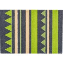 Astra Miabella Design 714 Colour 034 Streifen grau-grün 50 x 150 cm