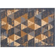 Astra Miabella Design 716 Colour 040 Dreiecke grau-braun 50 x 150 cm