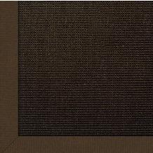 Astra Sisal-Teppich Salvador choco mit Astracare 200 cm x 200 cm