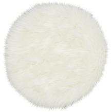 Astra Sitzfell Mia D. 180 C. 000 weiß 35 cm rund