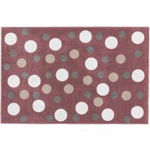 Astra Teppich Bambica Design 171, Farbe 008 Kreise 160 x 230 cm