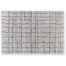 Astra Teppich Savona D. 193 C. 017 Gitter Aubergine 133x190 cm