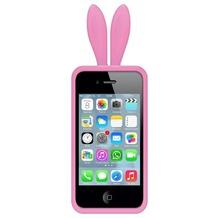 Avanca Bunny Ears - iPhone 4 - Pink