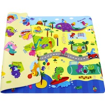 BABY CARE Spielmatte Dino Sports 12mm 125x185