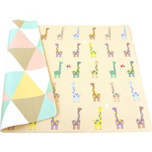 BABY CARE Spielmatte Giraffe in Love 12mm 125x185