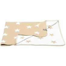 Baby's Only Babydecke Star beige/weiß