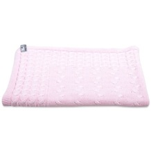 Baby's Only Babydecke Cable baby rosa