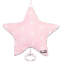 Baby's Only Spieluhr Sterne Stern Baby Rosa / Weiß