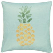 Barbara Becker Kissen (gefüllt) Pineapple blau 45 x 45 cm