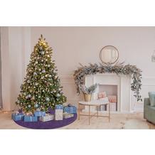 Barbara Becker Weihnachtsbaum-Teppich b.b Miami Style flieder/lila Ø 80 cm