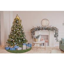 Barbara Becker Weihnachtsbaum-Teppich b.b Miami Style grün Ø 80 cm