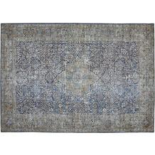 Barbara Becker Teppich Loft Blau-Gelb gemustert 80 x 150 cm